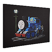Banksy Thomas the Tank Engine Canvas Wall Art A2 Size