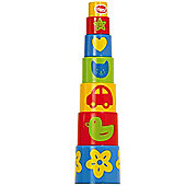 Gowi Toys 453-07 Pyramid Stacker