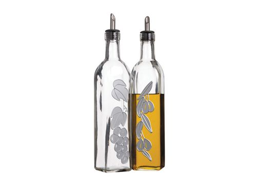 Kitchen Craft Kcgloilvin Glass Oil & Vinegar Set