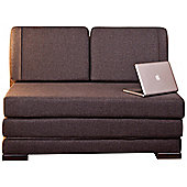 Sweet Dreams Studio 2 Seater Convertible Sofa Clic Clac Bed - Brown