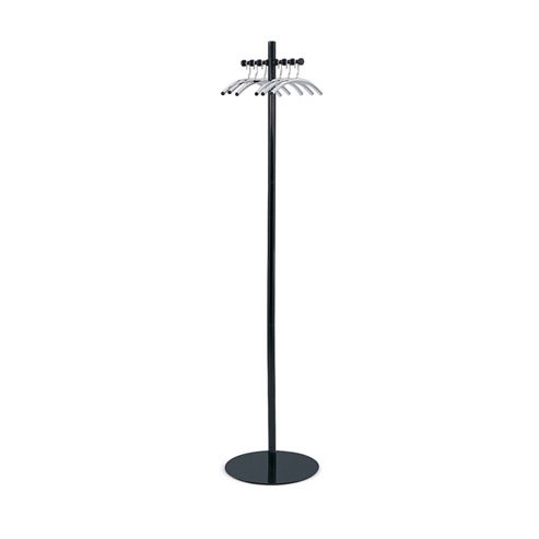 Safco Nail Head Coat Stand in Black and Silver