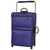 IT Luggage World's Lightest 2-Wheel Medium Orient Blue Suitcase