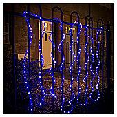 Festive 240 LED Rope Light, Blue