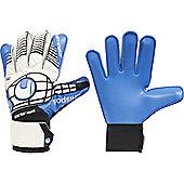 Uhlsport Eliminator Starter Soft Junior Goalkeeper Gloves - White