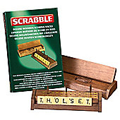 Scrabble Deluxe Wooden Tile Racks