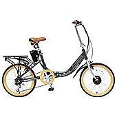 """Hopper E-lite 20"""" Electric Bike Graphite"""