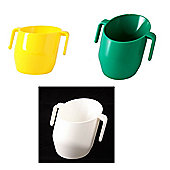 Doidy Cup Bundle - Green And Yellow And White - 3 Items