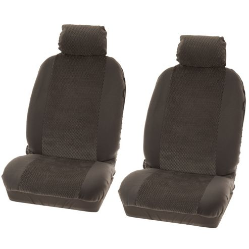 Seat cover front Denver black