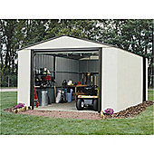 12ft x 24ft Murryhill Metal Shed (3.71m x 7.35m)