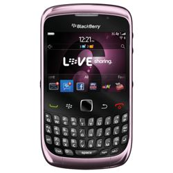 SIM Free Unlocked BlackBerry® Curve™ 9300 Pink