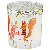 Pudding Town Squirrels - Candle in a Jar