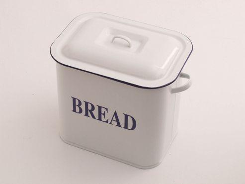 buy falcon 69834 oblong bread bin white from our bread. Black Bedroom Furniture Sets. Home Design Ideas