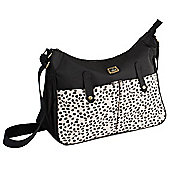 Caboodle Everyday Changing Bag (Black/Spot Pockets)