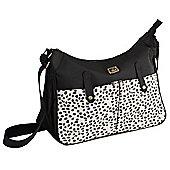 Caboodle Everyday Changing Bag (Black/Spot Pockets)