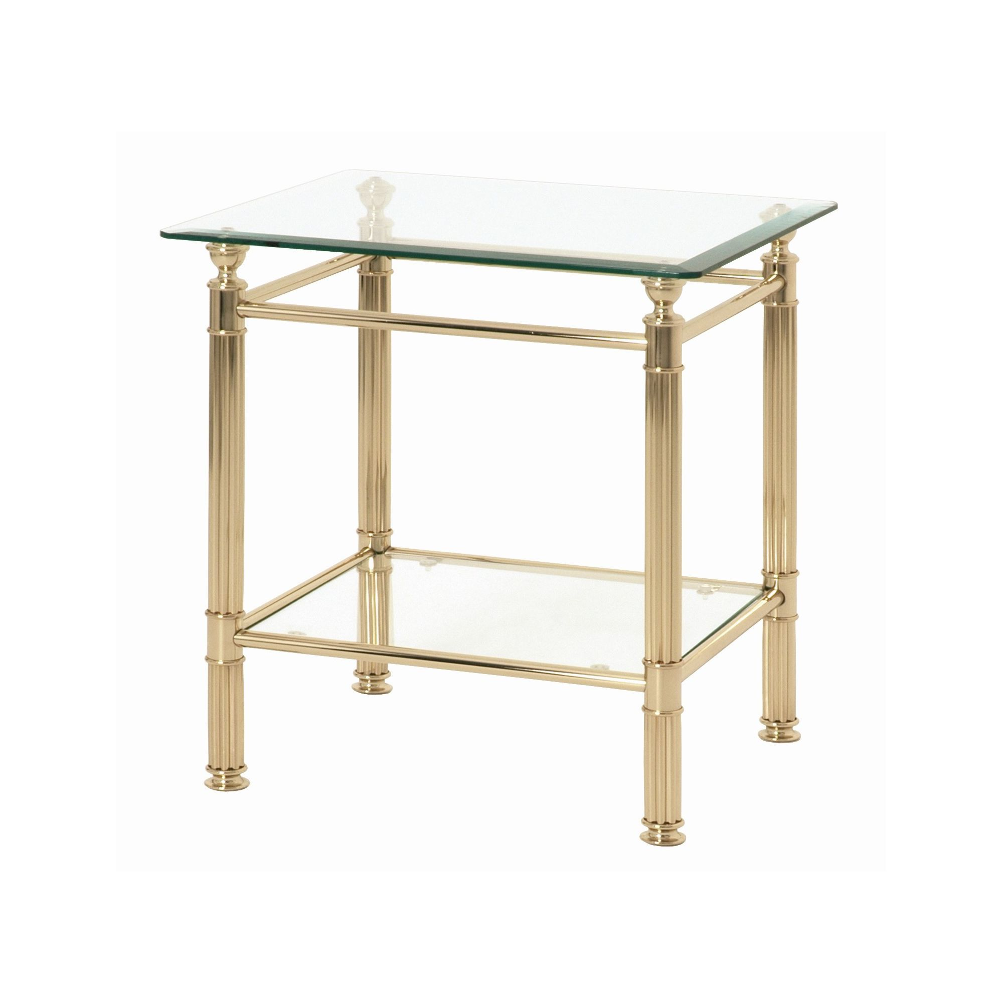 Urbane Designs Madeira 50cm End Table in Gold at Tesco Direct