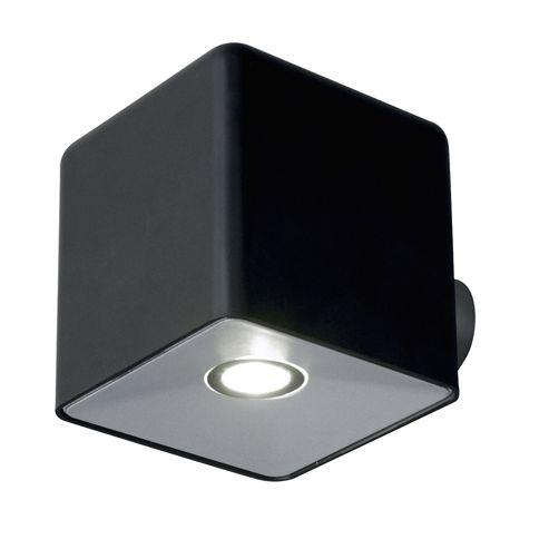 Lutec Pixel LED Spotlight - Black