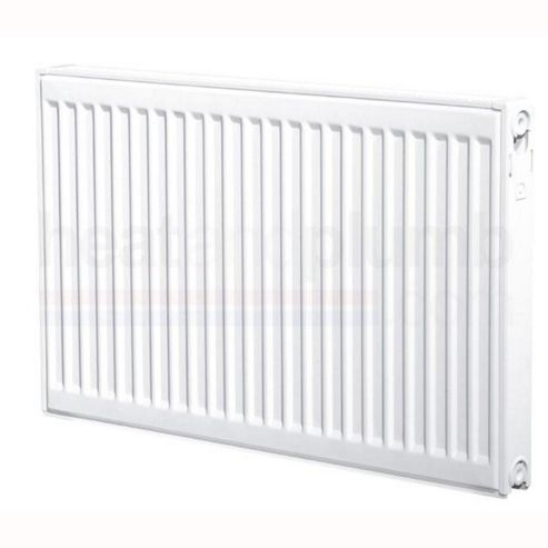 Heatline EcoRad Compact Radiator 600mm High x 700mm Wide Double Panel Plus