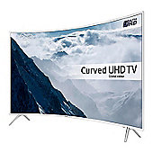 Samsung UE43KU6510 4K Curved 43 inch TV, White