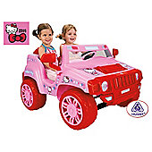 Hello Kitty 12V Ride-On Jeep