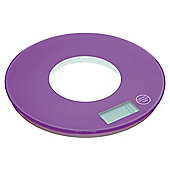 Kitchen Craft Colourworks Electric Scale 5Kg Purple