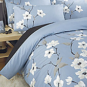 Dreams 'N' Drapes Chic Chi Quilt Set In Aqua - Double