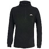 Trespass Ladies Louviers Fleece Zip Top - Black
