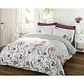 Rapport Art Memoirs King Quilt Set pink