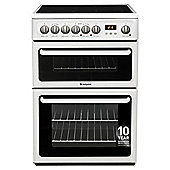 Hotpoint HAE60PS, White, Electric Cooker, Double Oven, 60cm