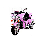 Kids Chopper Cruiser Style Ride On Bike - Pink