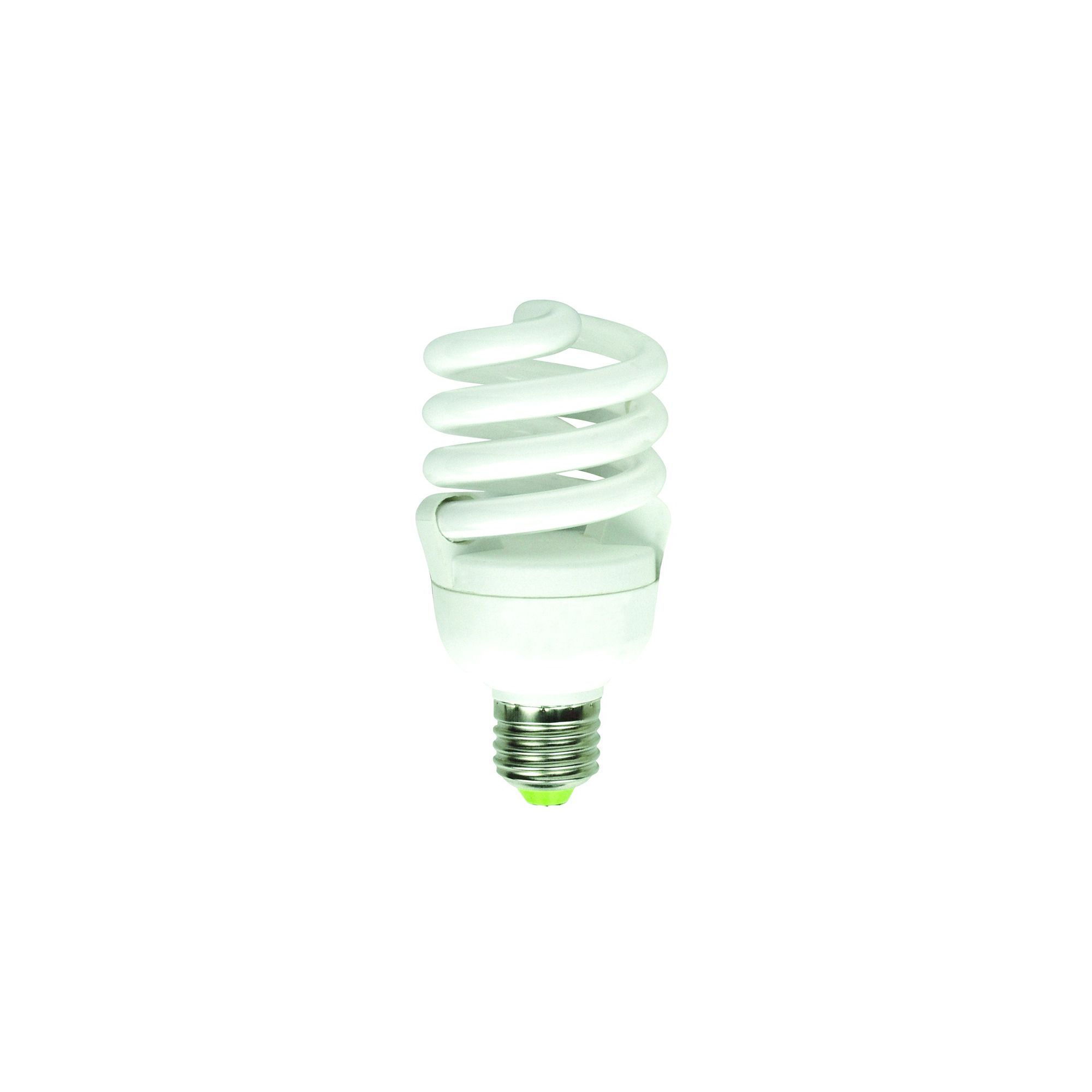 20w E27 Dimmable Low Energy Spiral White Light Bulb