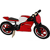 Kiddimoto Superbike (Red/White)