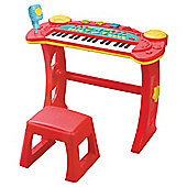 Carousel Kids Keyboard And Stool