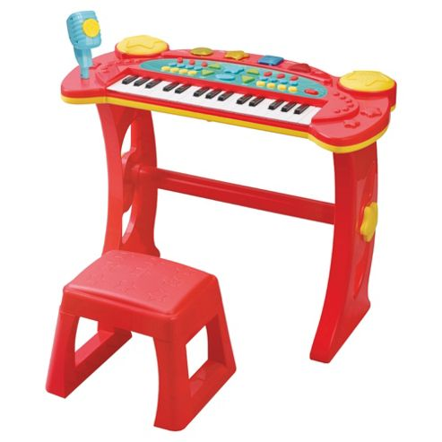 Carousel Keyboard And Stool
