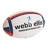 Webb Ellis Premier Rugby Trainer Navy/Red size 5