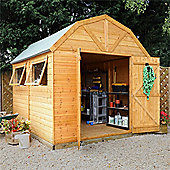 10ft x 8ft Deluxe Tongue & Groove Dutch Barn
