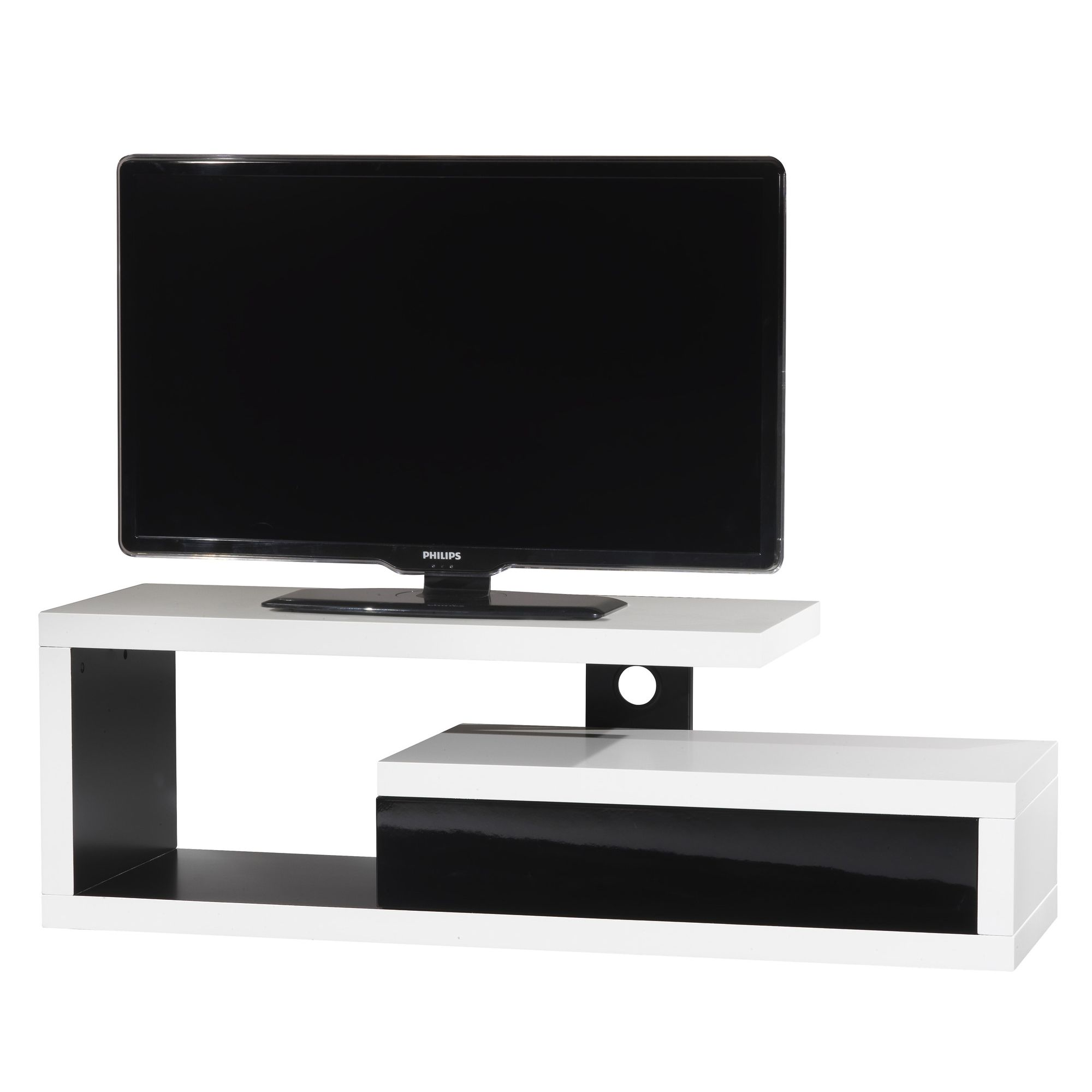 Ateca Vision Graphic TV Stand at Tesco Direct