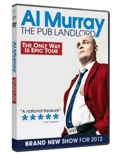 Al Murray - The Only Way Is Epic Tour (DVD)