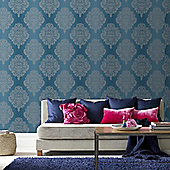 Graham & Brown LLB Cote Couture Wallpaper - Teal
