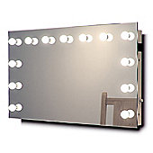 Hollywood Makeup Dressing Room Mirror with Warm White Dimmable LED lamps k91WW