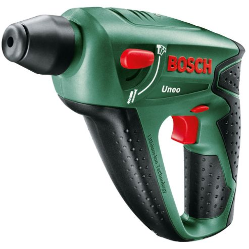 Bosch Uneo 3 in 1 Cordless Lithium-Ion SDS Hammer and Drill/Driver