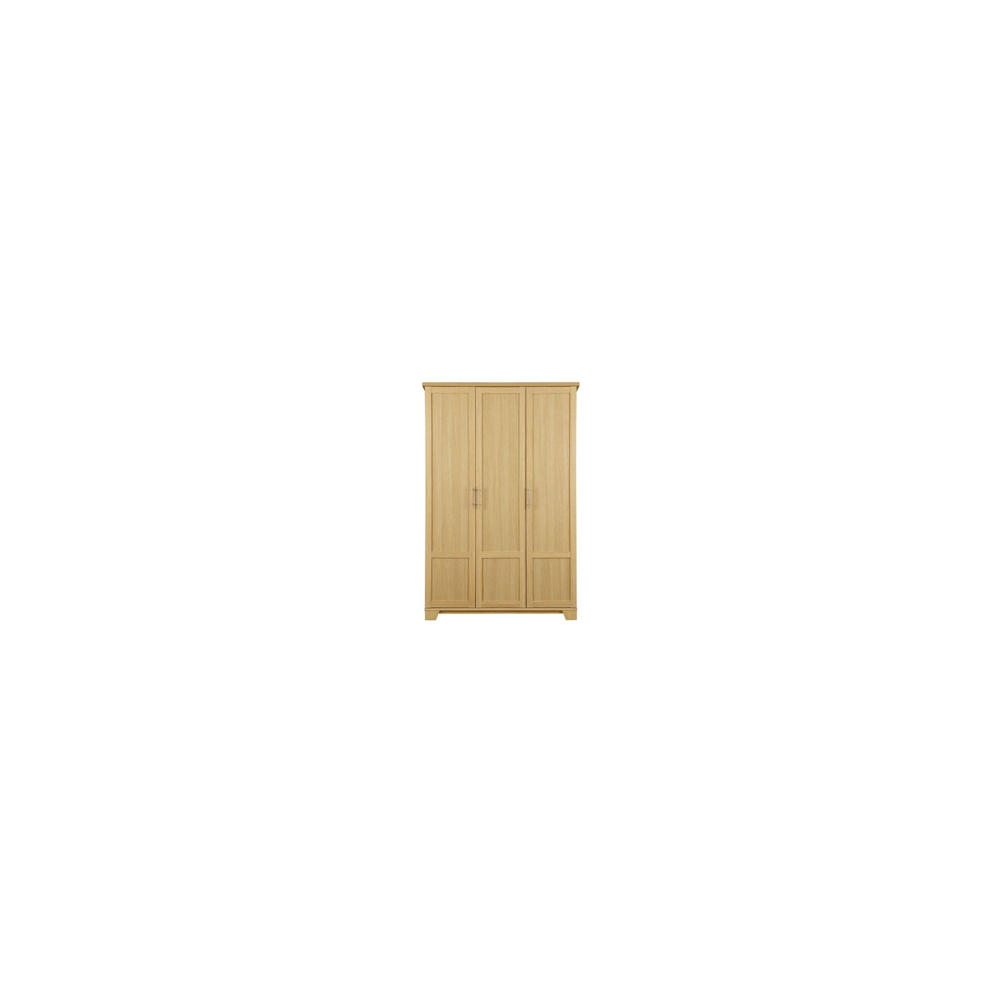 Caxton Melody 3 Door Wardrobe Set in Natural Oak at Tesco Direct