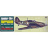 Hawker Mk-1 Hurricane - Flying Model Kit - 16.5 Wing Span - Guillow's