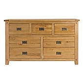 Elements Melbourne Bedroom 7 Drawer Wide Chest