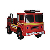 Big Red Fire Engine 6V battery operated