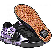 Heelys Scream Black/Purple Heely Shoe - Black