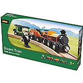 Brio 33036 Steam Travel Train For Wooden Train Set