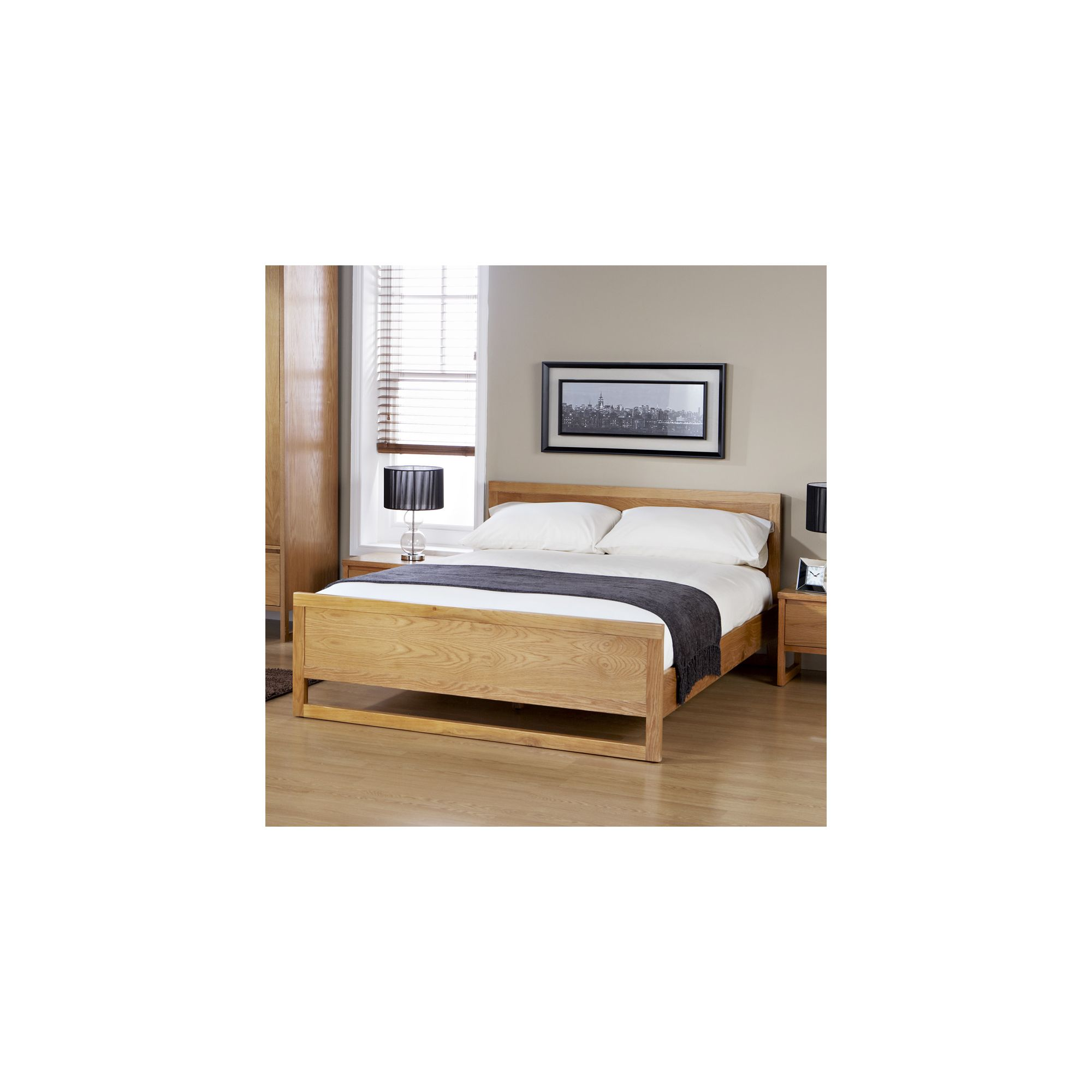 Elements Cherry Double Bed at Tesco Direct