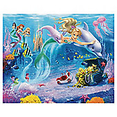 Mermaids Wallpaper Mural 8ft x 10ft