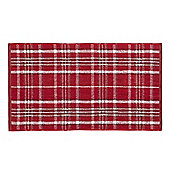 Catherine Lansfield Heritage Check Towel - Red