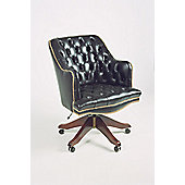 Curzon Gallery Collection Deans High-Back Chair - Black